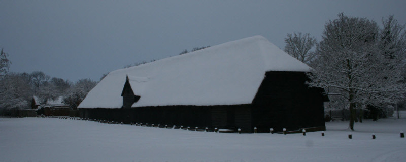Barn Snow Cropped